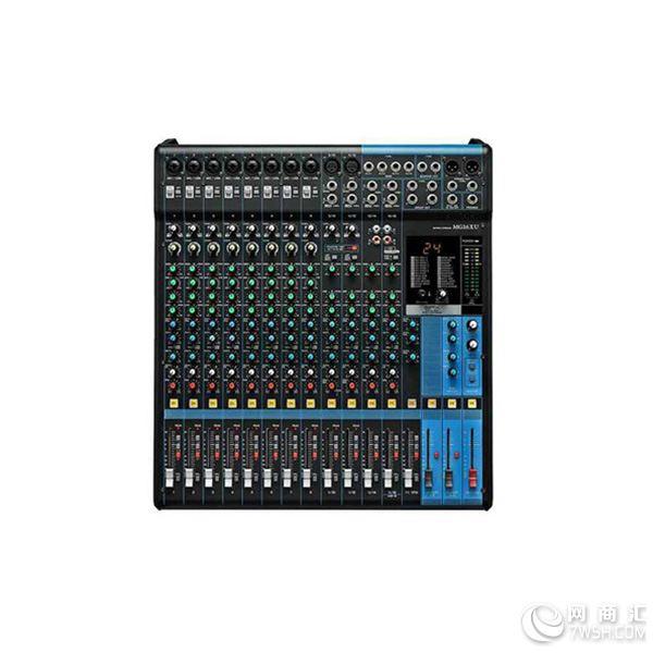 MG系列拥有直观、易用的操作界面,包含从6路到20路多种型号,适用于多种用户和用途。牢固的结构和灵活的设计使该系列在安装、录音和现场演出等用途中能以最高性能、最佳音质和稳定性塑造声音。  MG系列调音台配备了雅马哈录音棚级的A类离散式话放,这种话放采用由两个级联三级管结构的倒向晶体管电路,能为低阻信号提供更多的功率。宽厚自然的低音和平滑、极具冲击力的高音,极低的失真,D-PRE话放处理的声音,频率范围惊人地宽广。因此它们能处理从任何声源得到的声音,而不会放大声音中特定的元素。拥有这样一个声音纯正的工作