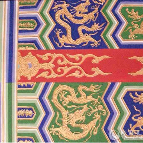 广州手绘古建筑彩绘】-广州家