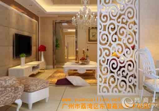 广东佛山订做订制欧式实木屏风,白色实木雕花隔断,欧式实木雕花隔断