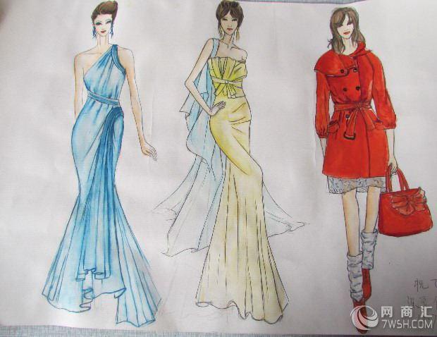 手绘服装的制作过程