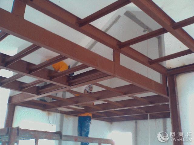 【成都钢结构阁楼施工搭建】-成都永祥钢结构工程部