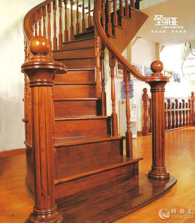 【实木楼梯制作】-广东雅林木业有限公司长沙分公司