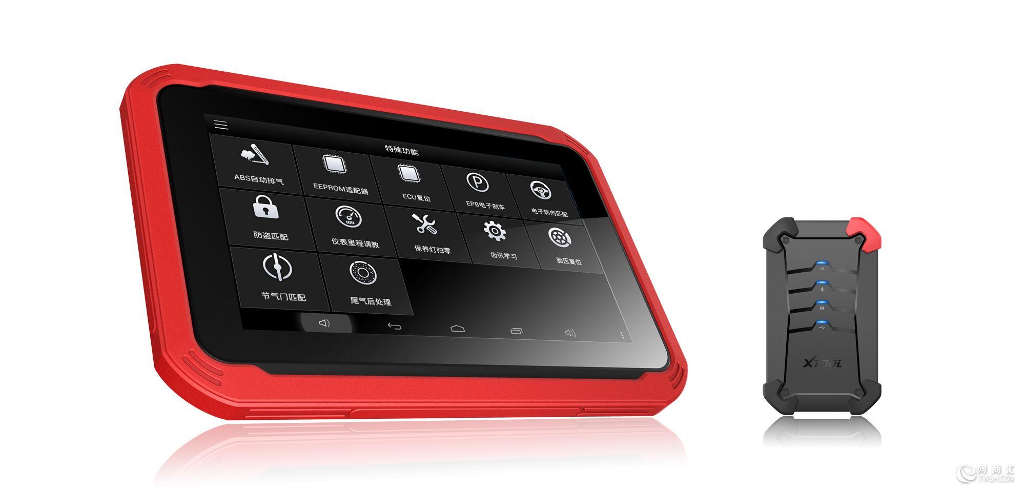 PS60汽车智能数码王 产品介绍: PS60是基于安卓平台打造的一款平板式智能数码王,极速操作、车型全面、功能强大,传承了朗仁公司在汽车特殊功能多、精、专的诸多优点,是行业内其它设备无法比拟的。 产品特点: 诊断:诊断程序通过VCI与车辆电控系统建立数据连接,可读取诊断信息,查看数据流参数,并执行动作测试,诊断功能达到原厂级。 诊断报告:所有诊断报告及诊断过程中产生的数据均可在此模块查看并可清晰知道用户的测试记录,方便快捷。 维修资料:提供内部多年积累的汽车维修资料,包含汽车技术手册、维修案例、电路图、常