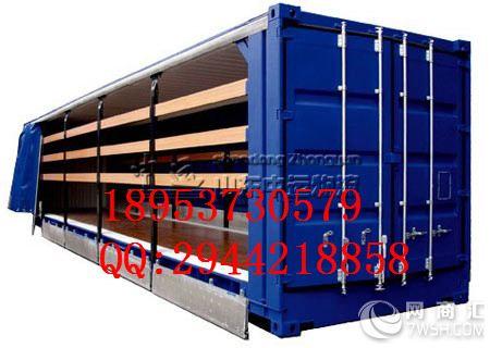 活动栏杆货车的设计图