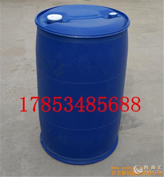 【供应耐酸碱100l化工桶100公斤双环塑料桶】-庆云新