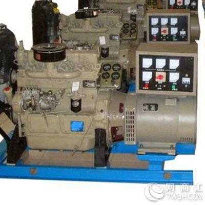 机座及端盖将发电机的定子