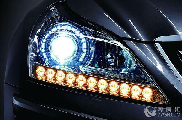 昆明奔驰GLK350车灯改装首选车宝贝汽车照明