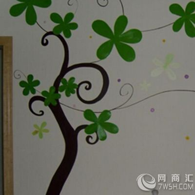 装修墙面手绘画