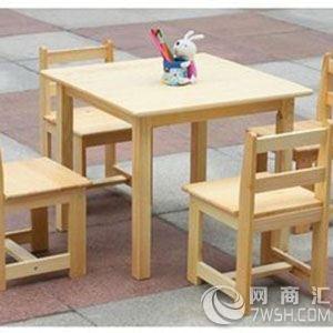 【北京幼儿园实木桌椅批发