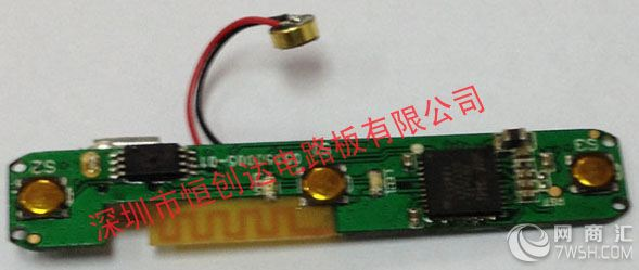 iphone6运动蓝牙耳机pcb线路板】-深圳市恒创达电路