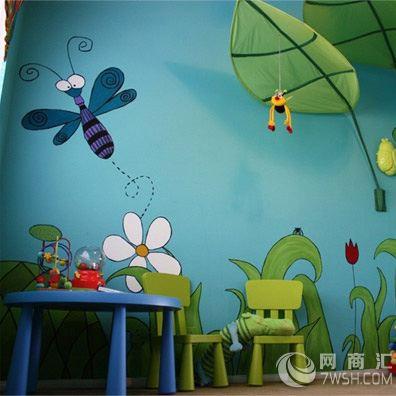 爱护环境手绘墙面