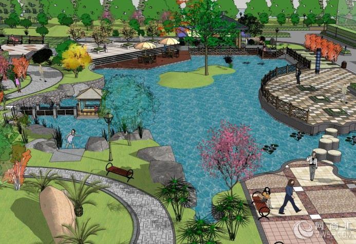 郑州社区住宅景观设计