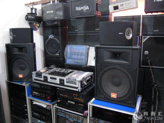 回收酒吧ktv音响dj设备