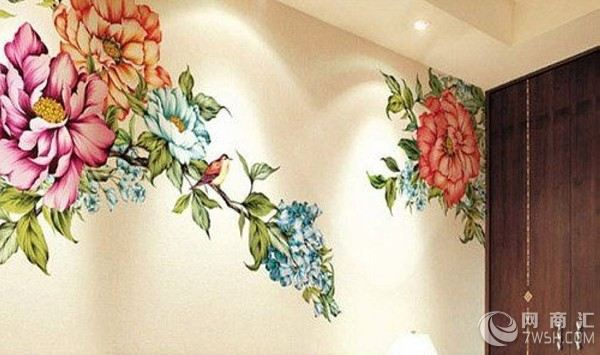 楼梯欧式主题手绘墙图片
