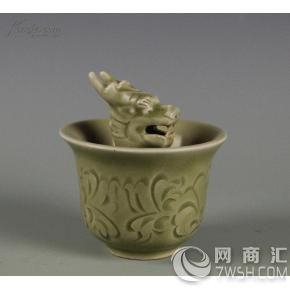 玉溪哪里能做宋代龙泉窑龙头杯拍卖鉴定的