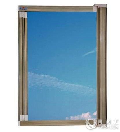 市中欧式复合门窗隐形纱窗批发