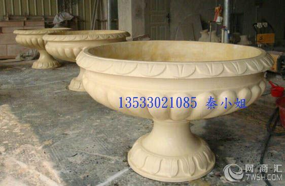 人造石砂岩罗马柱 欧式透光镂空柱墩 景观雕塑装饰圆柱