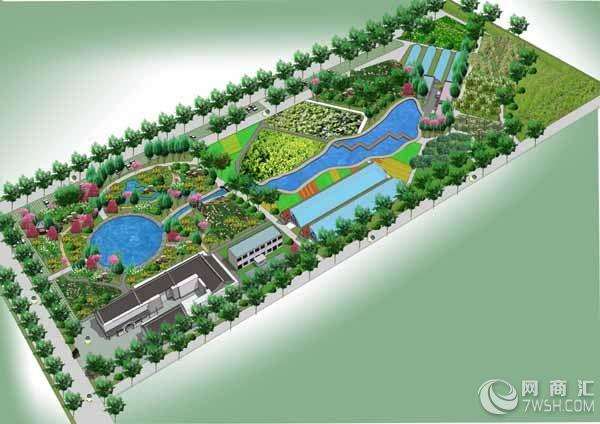 【农业观光园规划设计】-山东缔造者环境艺术工程设计