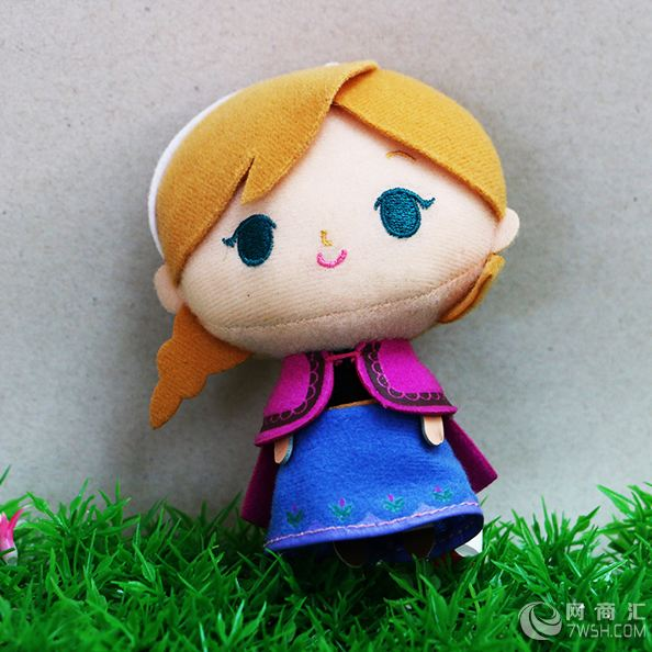逸萌玩具可爱女孩吊饰 包包钥匙扣吊饰