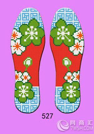 【保健型十字绣鞋垫图案大全】-济南玫瑰鞋垫厂-北京