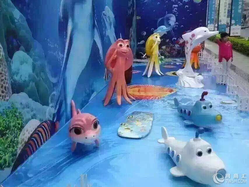 海洋展玻璃钢模型出租海洋生物玻璃钢模型展示