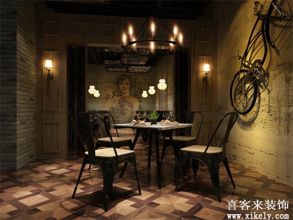 广州装修公司,餐厅装修设计,喜客来装饰