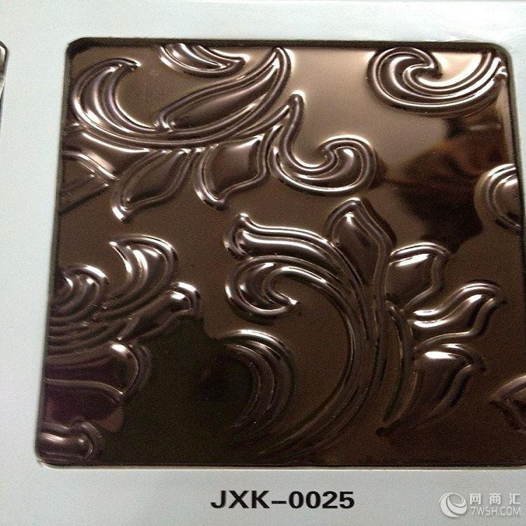 304玫瑰金不锈钢镂空花纹板|冲压不锈钢板|高档压花